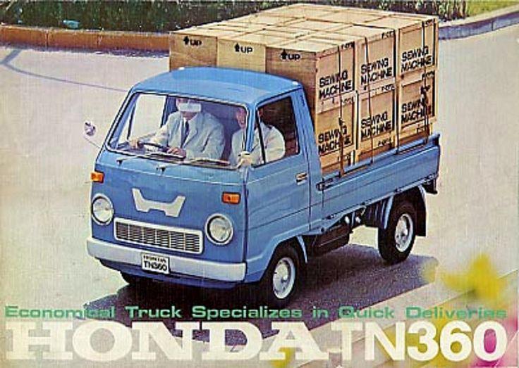 Honda TN360 English Brochure (Export) 1968