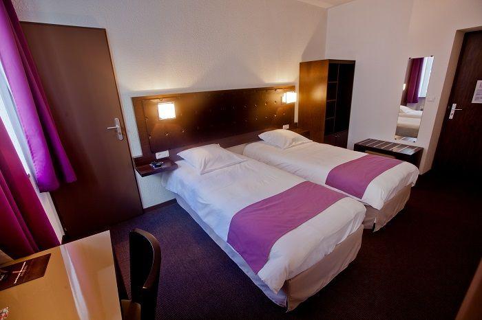 Chambres twin à Cherbourg dans l'hôtel Ambassadeur
