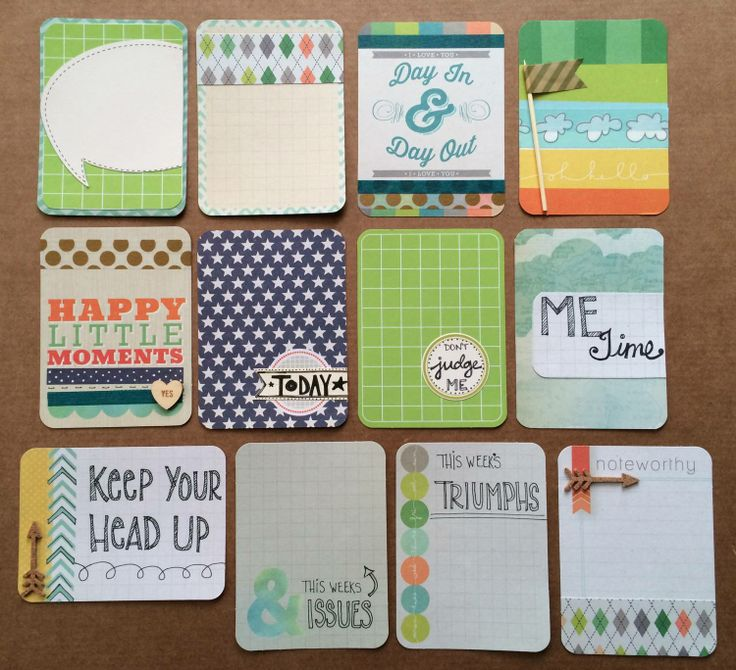 Handmade PL cards