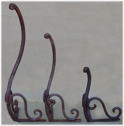 Wrought Iron Furniture Feet Home Decor