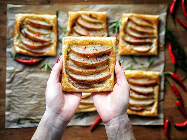 Hruškové šátečky s Gorgonzolou, Foto: Pěkně vypečený blog