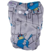 These are plush minky diapers from itti bitti. #clothdiapers #nopins