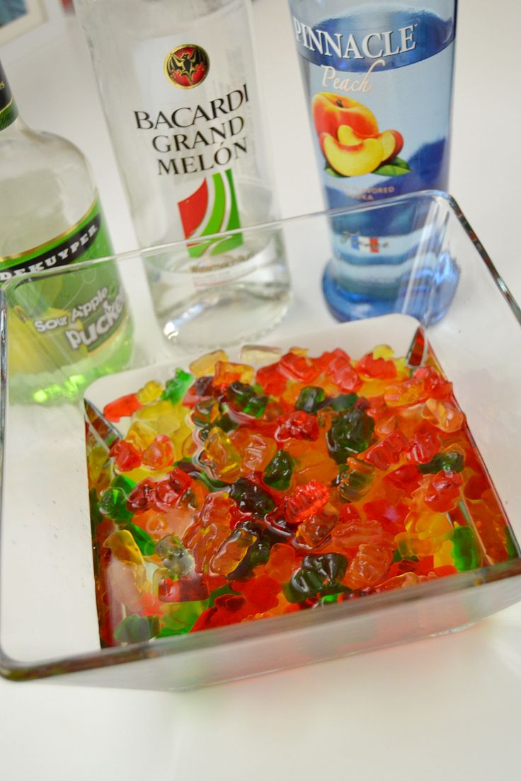 Not Your Average Booze-Infused Gummy Bears