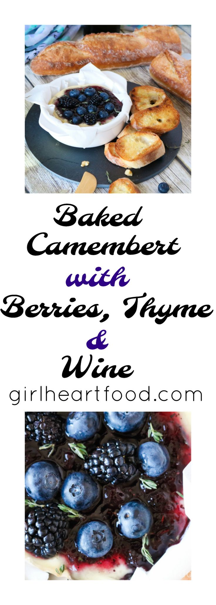 Baked Camembert with Berries, Thyme and Wine This is a sponsored post with Dairy Farmers of Canada, but, as always, all opinions are my own. Thank you for supporting brands that make Girl Heart Food possible and for helping me continue to do what I love – cook, eat and share delicious recipes! #CanadianCheese This …
