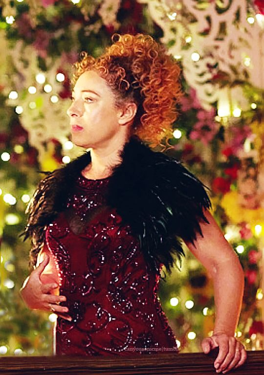 Alex Kingston as River Song in Doctor Who Christmas Special (2015) [x]