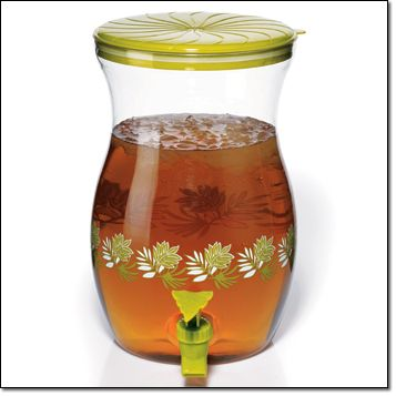 AVON~Tropical Leaf Beverage Dispenser Get kitschy in the kitchen! http://jgoertzen.avonrepresentative.com/