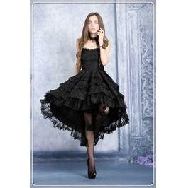 Dw039 Gothic Lolita Noble Swallow Tail Dovetail Dress