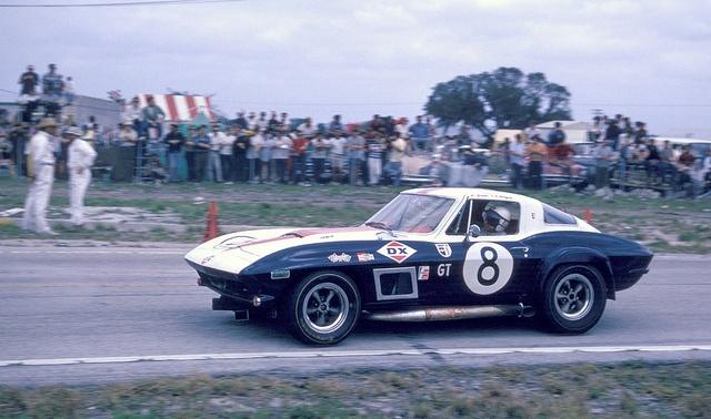 Yenko Corvette Sting Ray at Sebring 1967