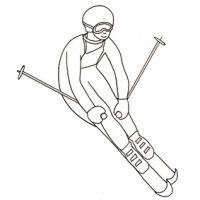 ski aux Jeux Olympiques