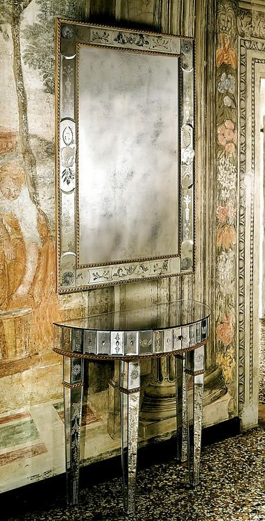 Venetian Console U0026 Mirror U2022 David Michael
