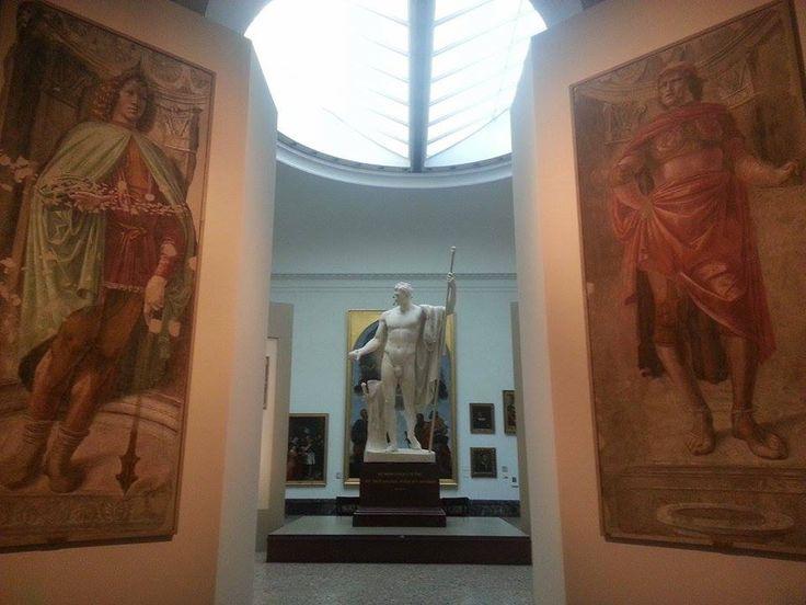 Sala XIV, Donato Bramante, Uomini con gli spadoni.