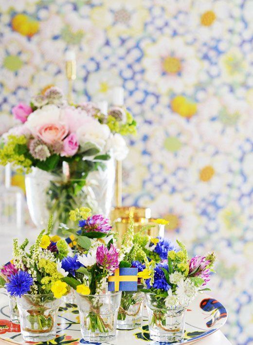 Weronika: 7 sorters blommor i varje glas till varje kuvert