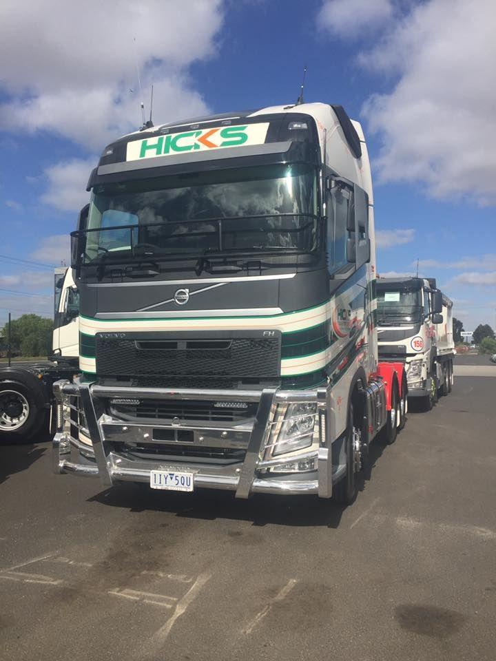 Hicks Transport new Volvo