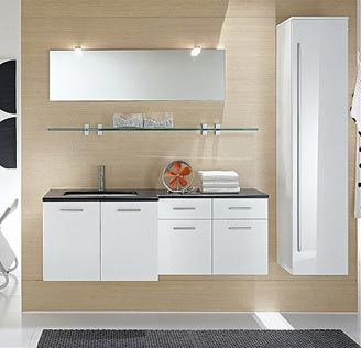 villa modern vanity bathroom set