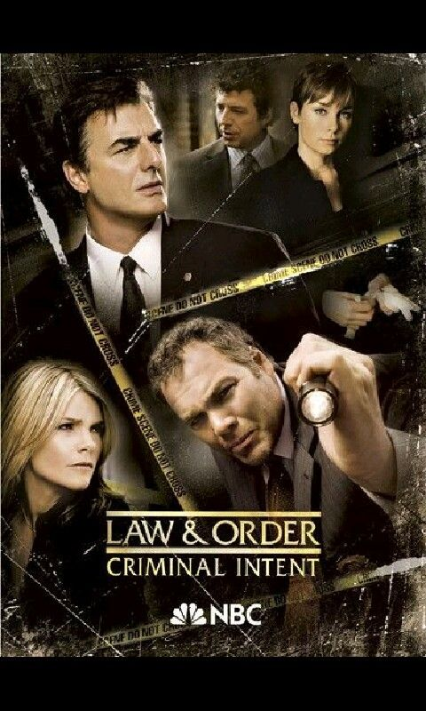 """Law & Order: Criminal Intent"" #television #series #spinoff #NBC"