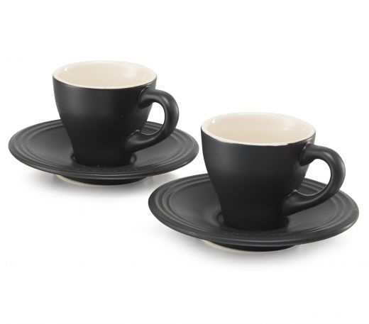 Matt Black Espresso Cups From Le Creuset Tasty Coffee Pinterest And