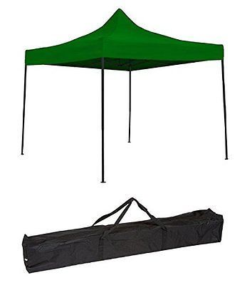 Tent and Canopy Accessories 36120: Trademark Innovations Lightweight And Portable Canopy Tent Set, Green, 10 X 10 -> BUY IT NOW ONLY: $115.56 on eBay!