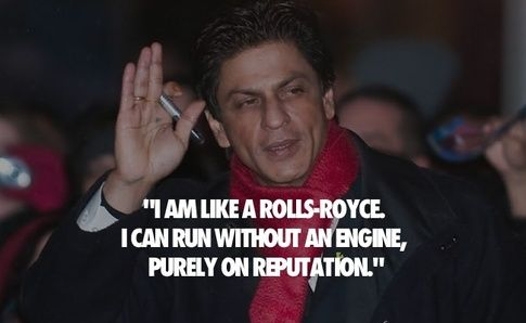 (2) Shahrukh Khan: What are some of the wittiest Shahrukh Khan quotes? - Quora
