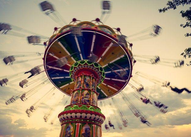 Catch the fun fair at Alexandra Palace.