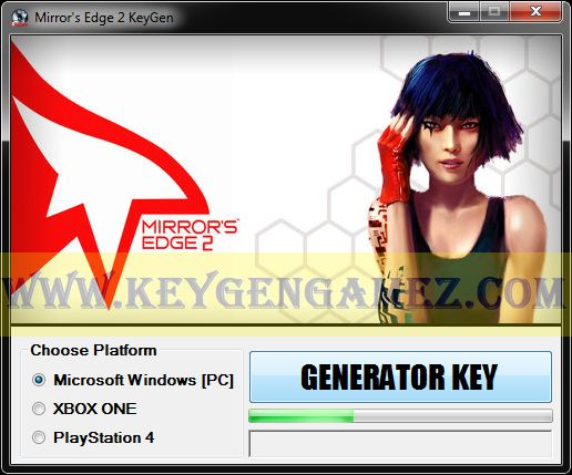 Are you looking for Mirror's Edge 2 KeyGen? If the answer is YES, you've got in the right place. I suggest you to read the entire article to could find out how to get some activation codes with Mirror's Edge 2 KeyGen software for Mirror's Edge 2 video game.