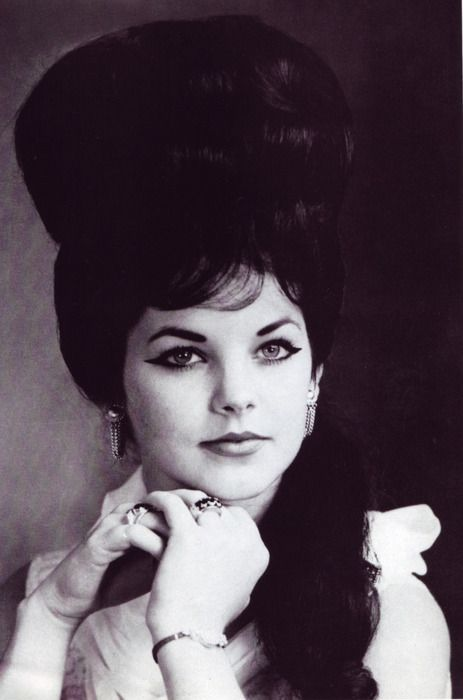 Priscilla Presley - bad now but I remember when it was the thing!