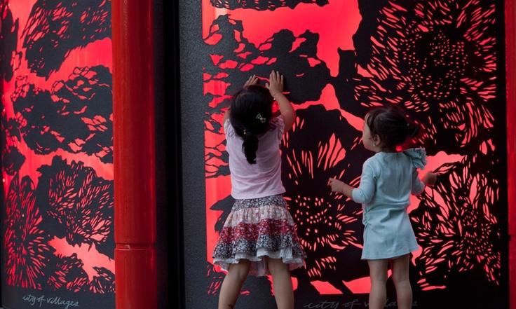 #china town information kiosk #city of sydney #red lantern #frost design #lacoste stevens #vince frost