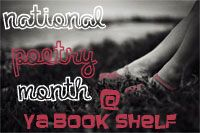 National Poetry Month @ YA Book Shelf button / banner