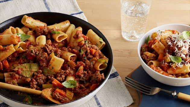 Get Giada De Laurentiis's Simple Bolognese Recipe from Food Network