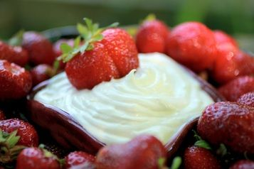 creamy fruit dip recipe