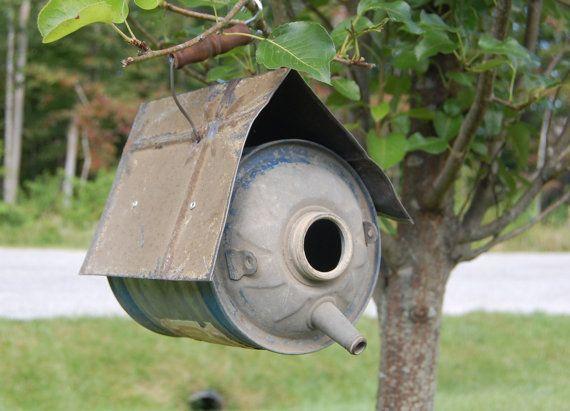 Vintage Bird House 7
