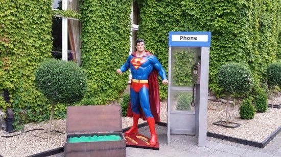 Life-size Superman 3D   Superhero Theme Party   Superhero Party   Event Prop Hire