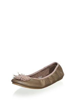 Kickers Women's Liberty 2 Ballet Flat (Bronze)