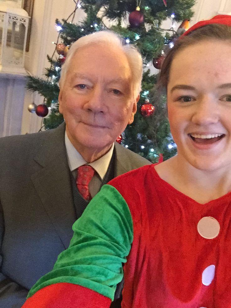 Gaybo #elfie with Holly Elf!