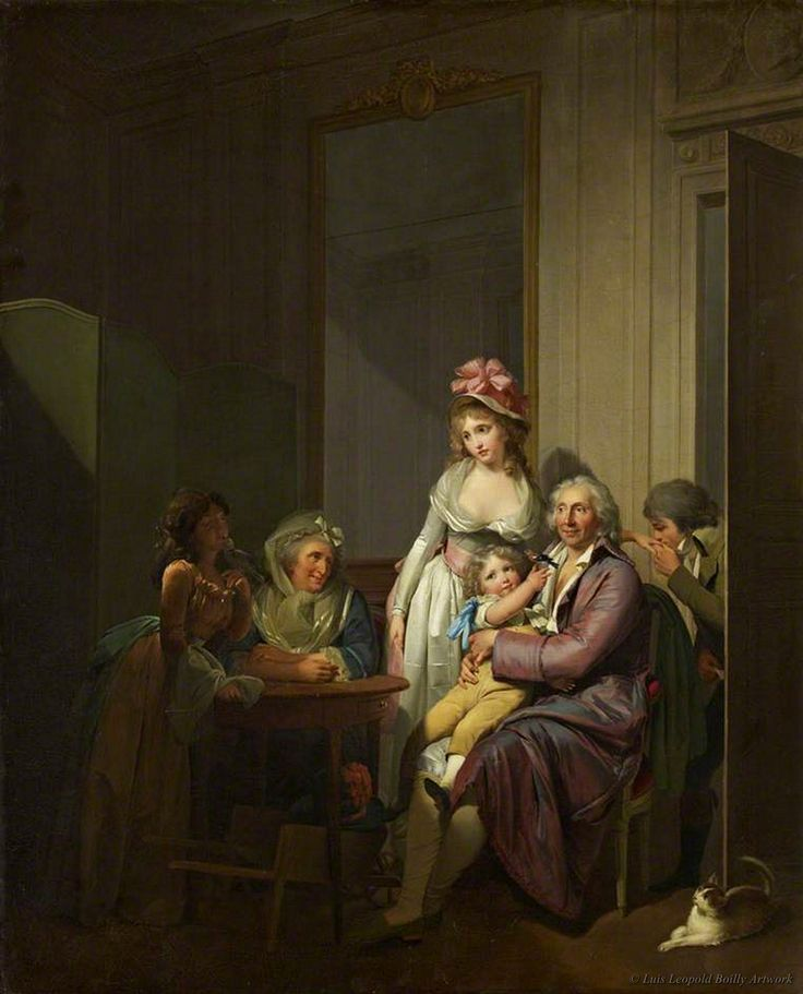 Family and Interior by Louis Leopold Boilly.