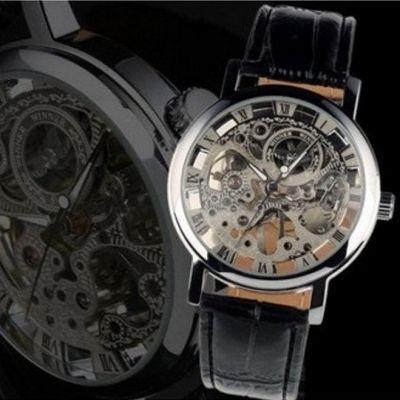 Мужские механические часы Winner Skeleton M8  http://ntsale.ru/catalog/muzhskiechasy/skeletonwinnerm8.html