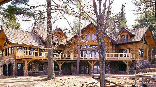 Log cabin dream home preferably on a ton of land with a for Log cabin dream homes