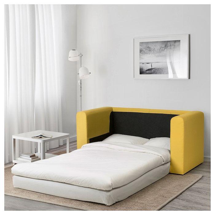 Askeby 2 Seat Sofa Bed Grasbo Golden Yellow Sofa Bed Bed Sofa