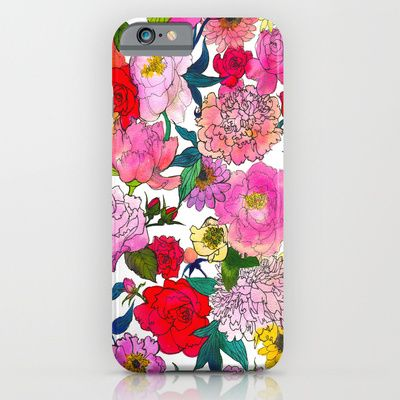 Buy Peonies U0026 Roses By Marcella Wylie As A High Quality IPhone U0026 IPod Case.