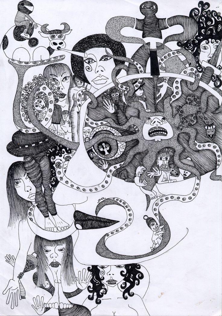 serie di 4 stampe formato A3