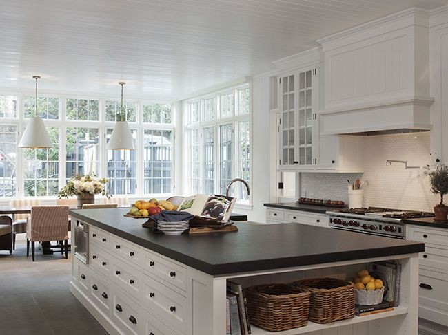 white kitchen wood countertops wendy posard