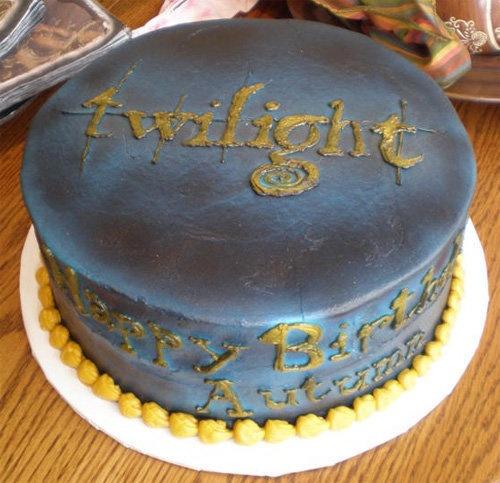 Especial Twilight - Torta crepusculo