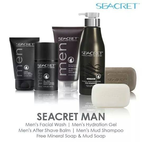 Get $185 in products for $70!!!! A few times a year, Seacret has promotional packages and since Father's Day is coming up here is one that is absolutely awesome! It includes: Men's Facial Wash, Men's Hydration Gel, Men's After Shave Balm, Men's Mud Shampoo. PLUS if you become a preferred customer you get FREE Mineral Soap & FREE Mud Soap. Suggested retail is $184.82. YOUR COST IS $70.97 as a preferred customer!-- www.seacretdirect.com/njdiaz