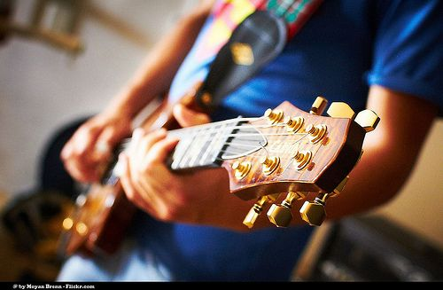 """Guitar  My friend playing his guitar     — FREE IMAGE  —  HOW TO USE IT —    How to use my images for free in  4 steps :   1)    Read and respect the """"Copyrights Rules & Conditions"""" below;  2)    Check my gallery. Maybe you can find more useful free images for your works. Here is the link:   Moyan Brenn Official Gallery      3)   Now you can use my images. No need to write me.  4)   You know, If you buy an image on a photostock website it can cost you a lot of money. Instead, i.."""