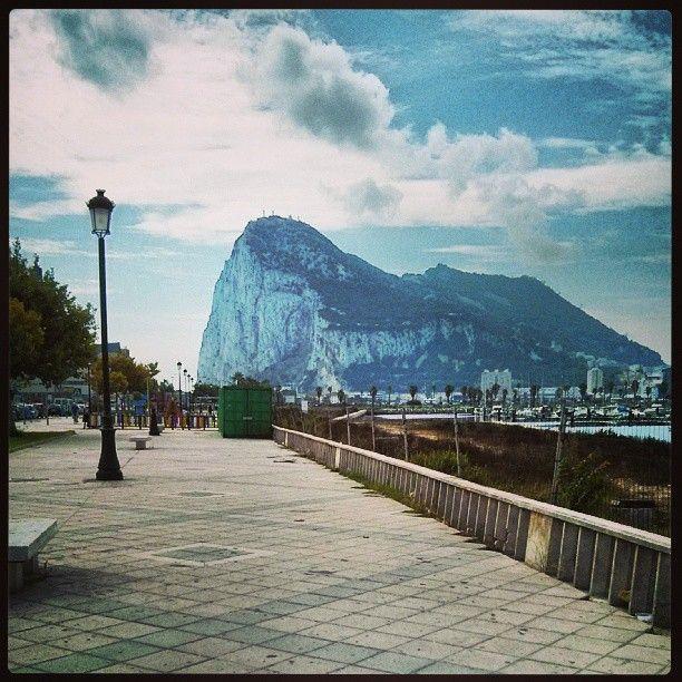 La Línea de la Concepción (al sur del sur, pegadita a Gibraltar)