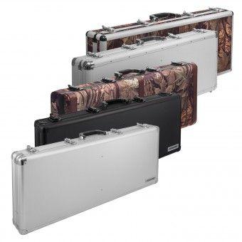 Die robusten und geräumigen Waffenkoffer eignen sich hervorragend zum Transport Ihrer wertvollen Jagdwaffen, Pistolen und Gewehre.