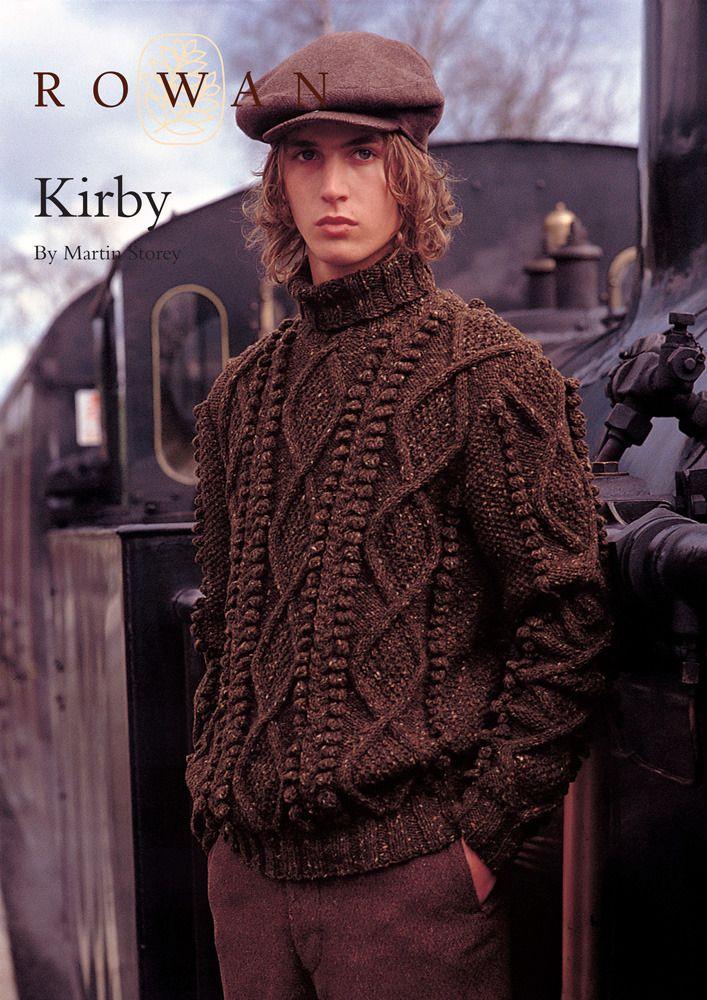 Attractive Fisherman Knit Sweater Pattern Frieze Blanket Knitting