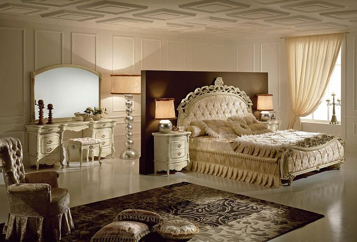 VICTORIA range of Italian Bedroom furniture