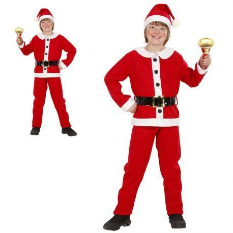 Disfraz Papa Noel Infantil.  En Mercadisfraces, podrás comprar tus disfraces baratos para Navidad.