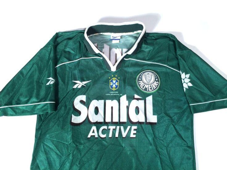 Palmeiras Santal Active Brasil Brazil Futbol Soccer Reebok Men's Green Jersey #Reebok #Palmeiras http://www.ebay.com/itm/Palmeiras-Santal-Active-Brasil-Brazil-Futbol-Soccer-Reebok-Mens-Green-Jersey-/201268817071