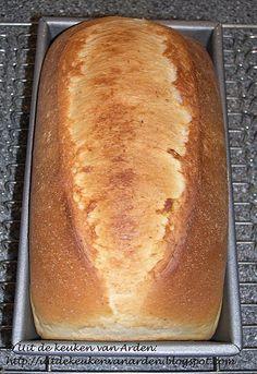 Wit brood met extra boter en karnemelk. Een beetje zoetig, maar ontzettend lekker!